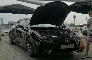 Lexus RC F overtreft spierkracht BMW M4
