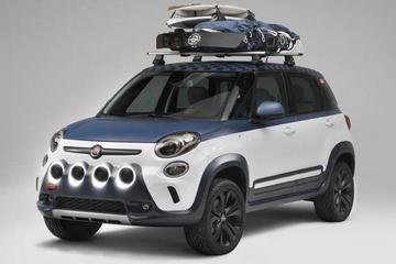 Fiat 500L Vans Concept zoekt het avontuur op