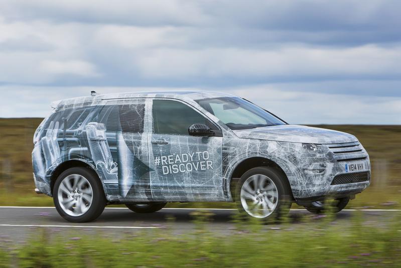 Land Rover schijnt licht op Discovery Sport