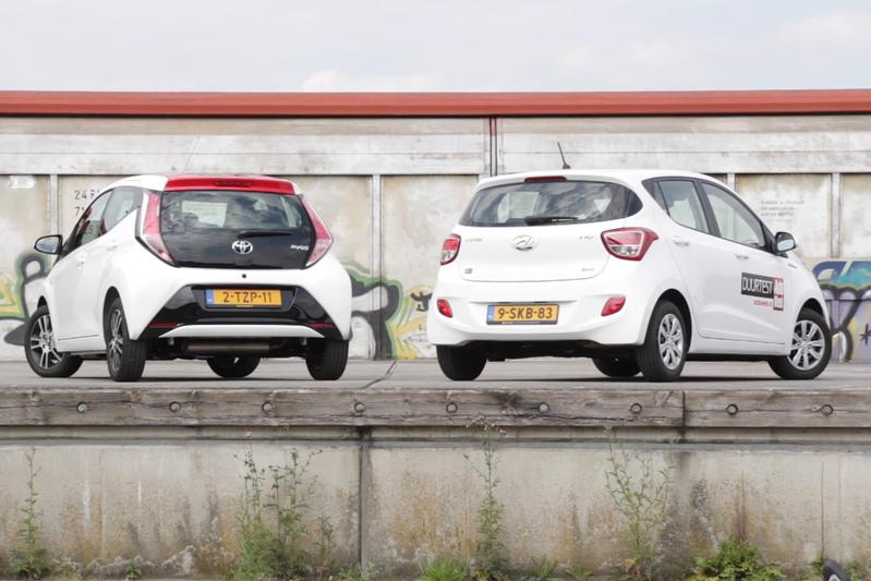 Dubbeltest - Toyota Aygo vs. Hyundai i10