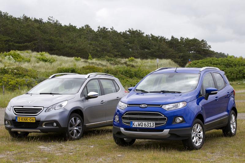 Ford Ecosport - Peugeot 2008