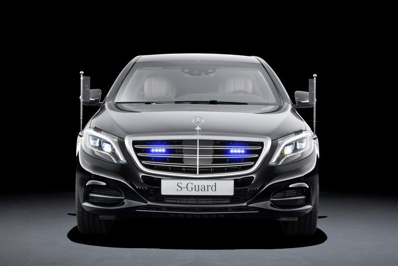 Kluizenaar: Mercedes S 600 Guard