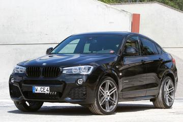 Mannhart voert BMW X4 op