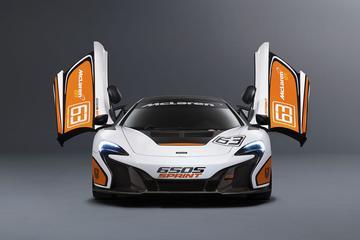 McLaren 650S Sprint is gemaakt voor het circuit