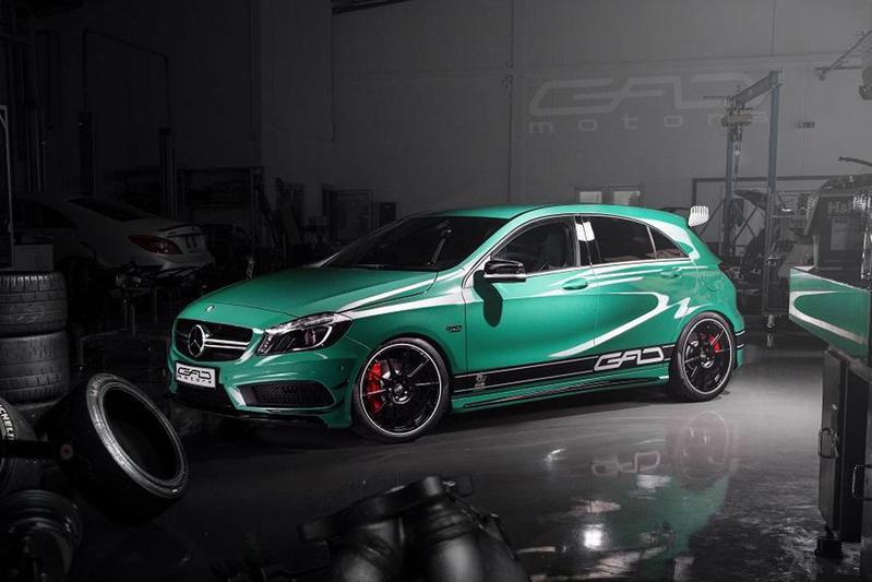 GAD Motors tilt Mercedes A 45 AMG naar 430 pk