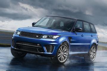 Range Rover Sport SVR in volle glorie