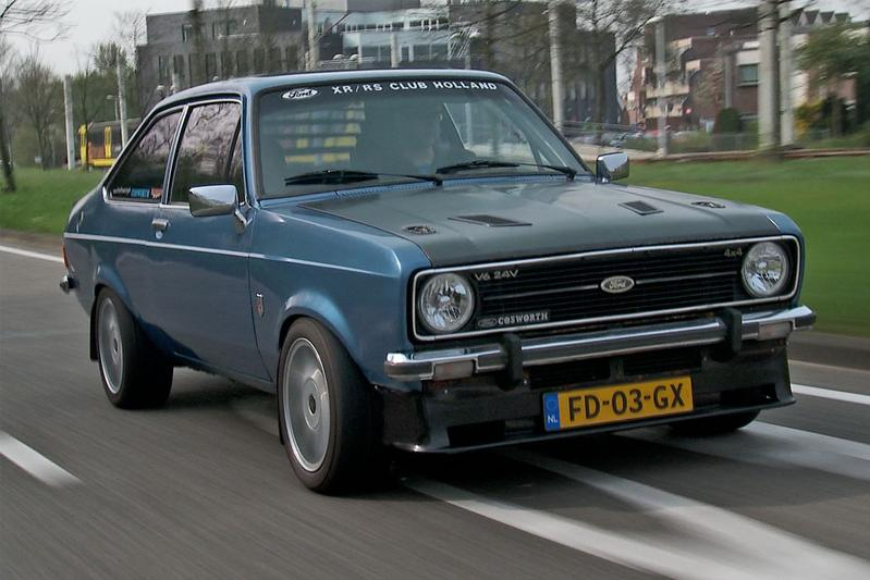 Kloppend Hart -  Ford Escort V6 4x4