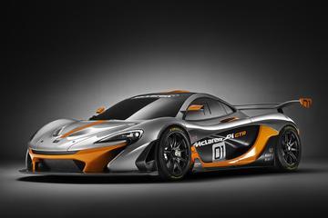 McLaren P1 GTR breekt los van ketenen