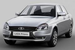 Lada Priora in het nieuw gestoken