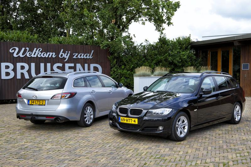 BMW 316 Touring (2009) - Mazda 6 Sportbreak (2010)