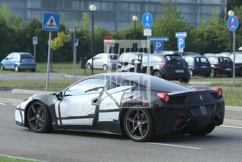 Geruchtenmolen: Biturbo-V8 voor Ferrari M458-T