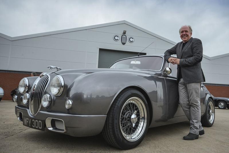 Nieuwe Jaguar Mark 2 in productie