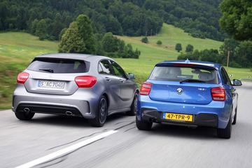 Mercedes-Benz A-klasse tegen BMW 1-Serie