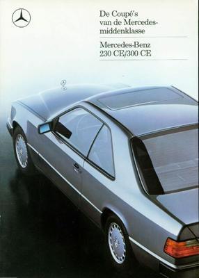 Brochure Mercedes 230 CE / 300 CE