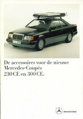 Brochure Mercedes 230 CE / 300 CE accessoires