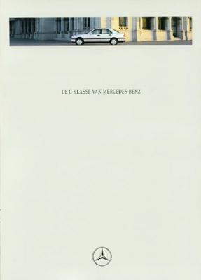 Brochure Mercedes C-klasse 1995