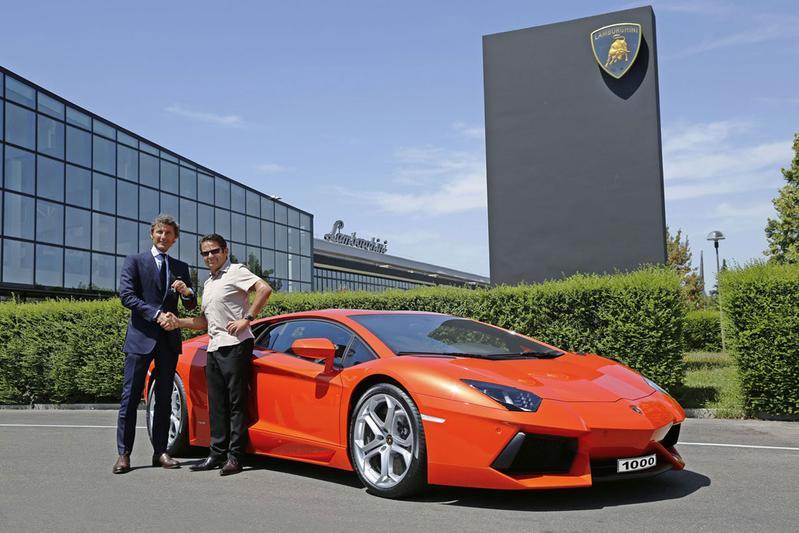 Lamborghini bouwt duizendste Aventador
