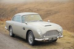 Exclusief: Aston Martin DB5 in James Bond: Skyfall!