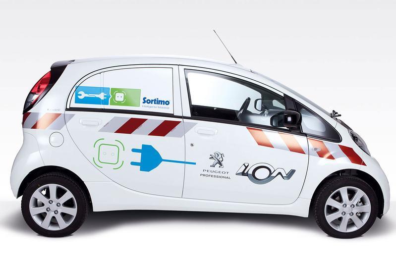 Elektrisch transport: Peugeot iOn Cargo