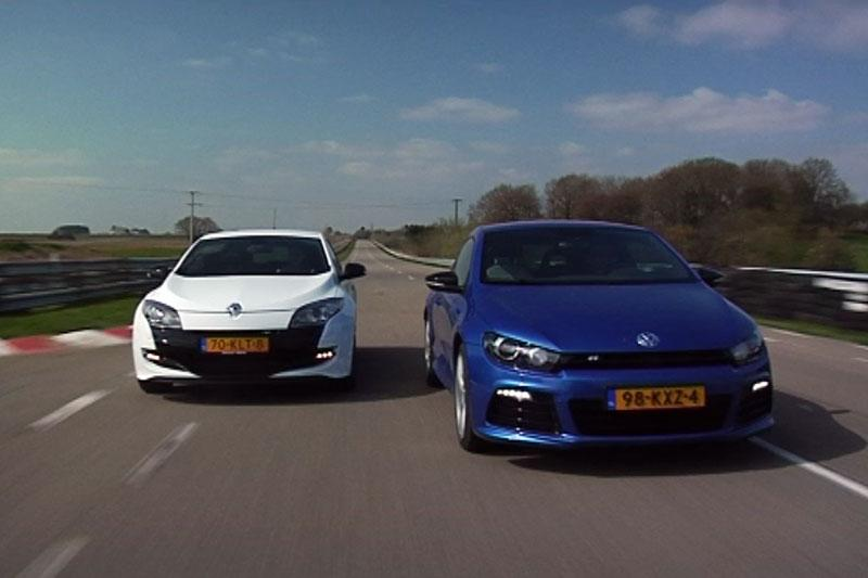 Scirocco R vs Mégane RS