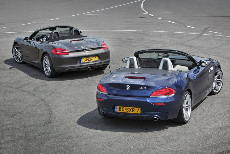 Porsche Boxster S - BMW Z4 sDrive35is