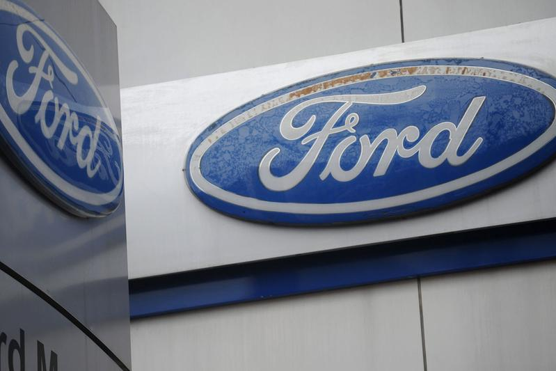 Ford logo dubbel