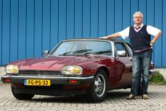Op de rollenbank - Jaguar XJ-SC
