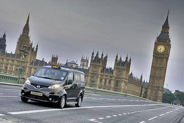 Nissan NV200 nu ook als 'black cab'