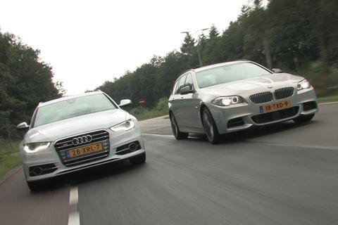 Dubbeltest - Audi S6 vs. BMW M550d