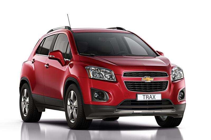 Chevrolet Trax - het motorenaanbod