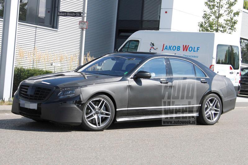 Dit is de Mercedes-Benz S63 AMG