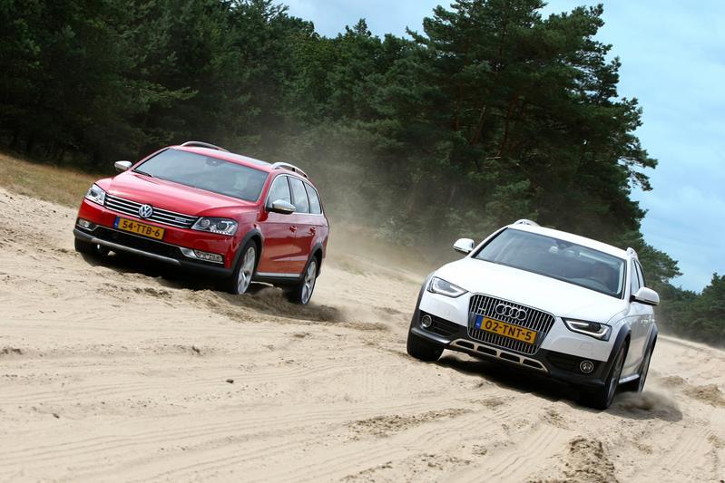 Audi A4 Allroad 2.0 TFSI - Volkswagen Passat Alltrack 2.0 TSI