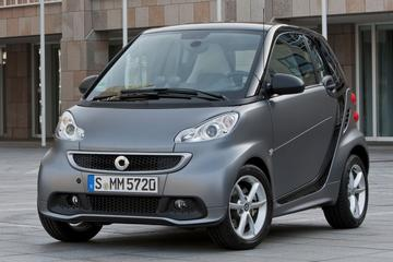 Smart fortwo coupé MHD pure 45kW (2013)