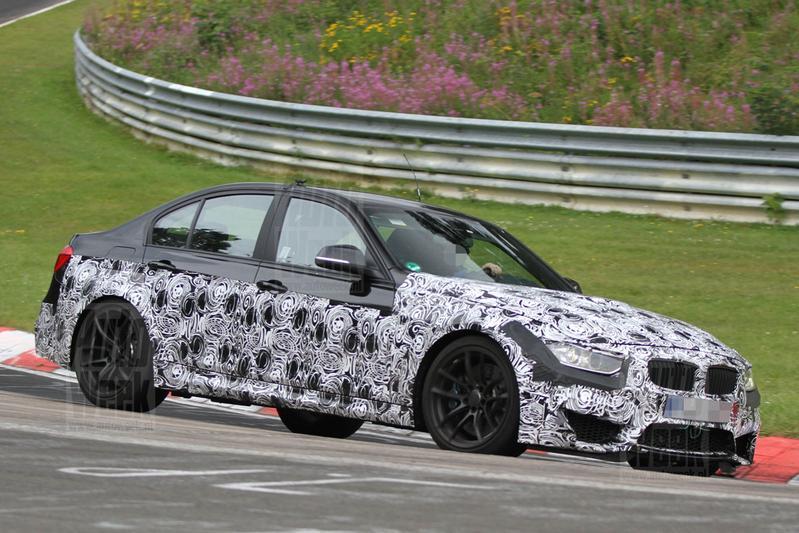 BMW M3 sedan laat meer zien