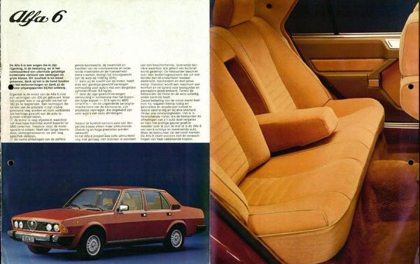 Brochure Alfa Romeo Alfa 6