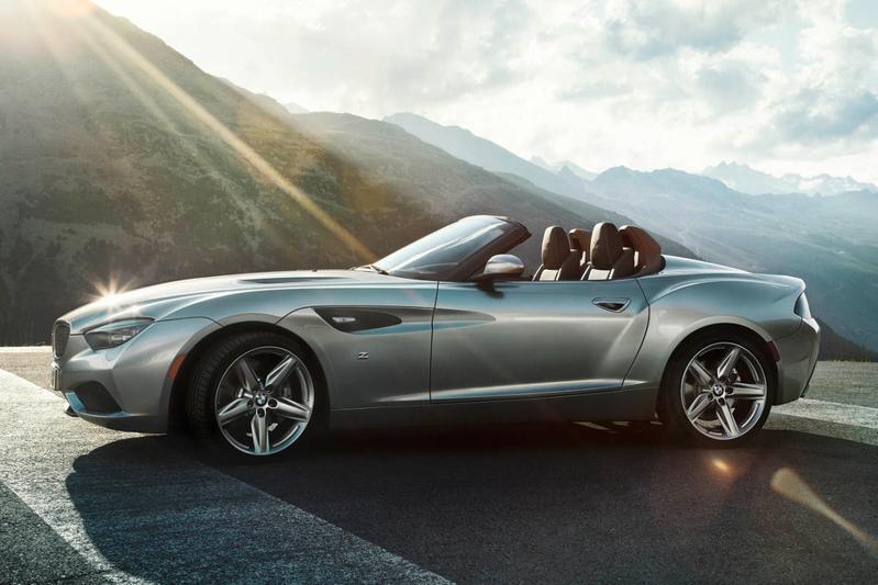 BMW Zagato Roadster: toch het dak eraf