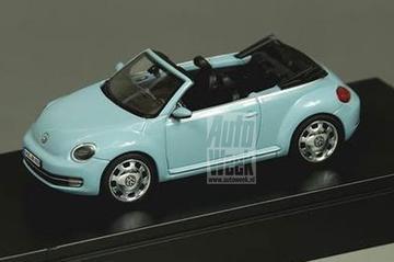 Mini-onthulling: VW Beetle cabrio schaalmodel