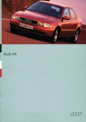 Brochure Audi A4 1994