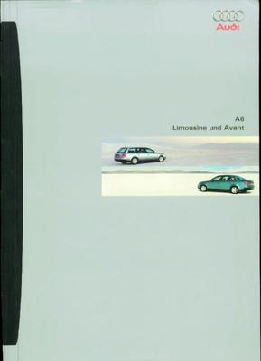 Brochure Audi A6 1998