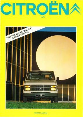 Brochure Citroën C25 1982