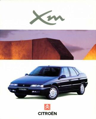 Brochure Citroën XM 1994