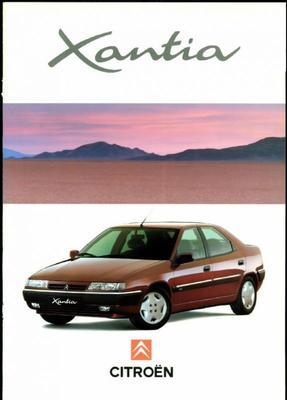 Brochure Citroën Xantia 1994