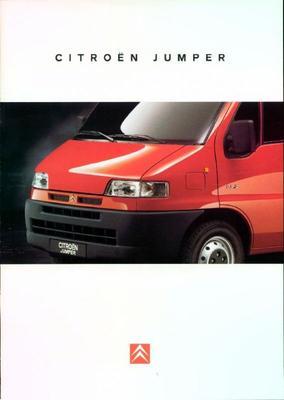 Brochure Citroën Jumper 1995