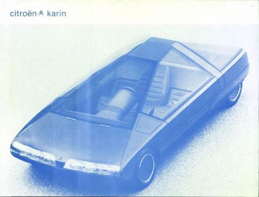 Brochure Citroën Karin