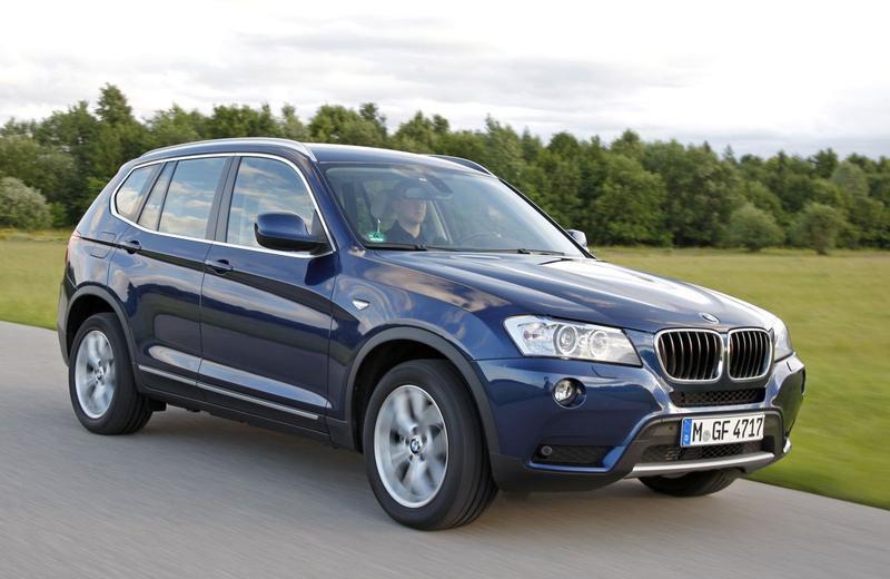 Nieuwe instap-BMW X3 met achterwielaandrijving