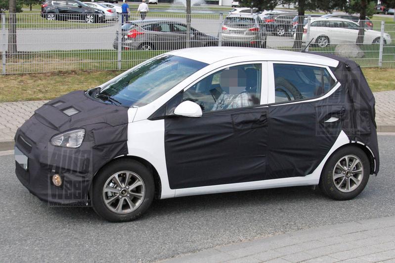 Hyundai test nu al met volgende i10