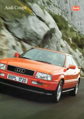 Brochure Audi Coupé 1993