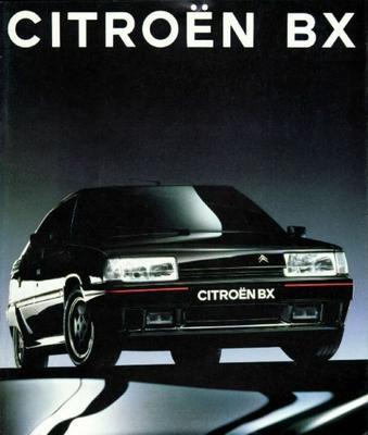 Brochure Citroën BX 1991