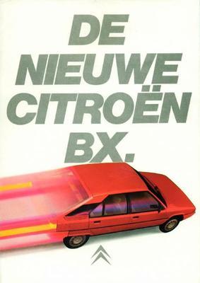 Brochure Citroën BX 1982