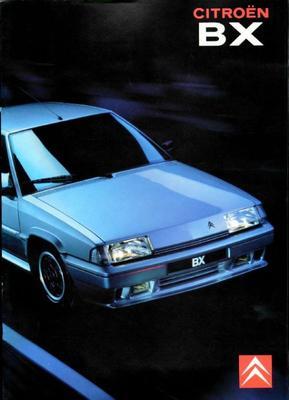 Brochure Citroën BX 1990